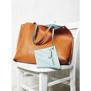The Slouchy Vegan Leather Bag @ FreePeople